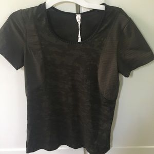 Lululemon camo shirt